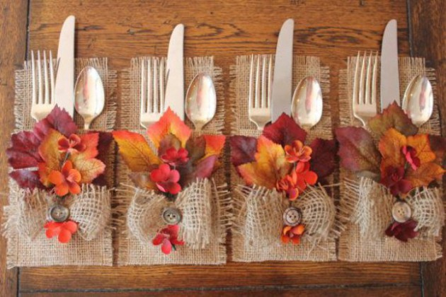 19 totally easy inexpensive diy thanksgiving decorations Cheap thanksgiving table setting ideas