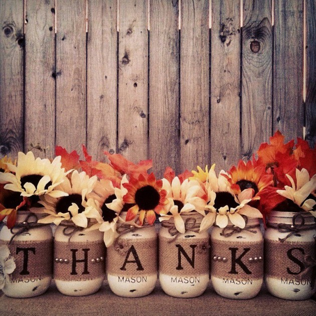 20 beautiful thanksgiving decoration diy ideas to decorate for Thanksgiving home decorations ideas