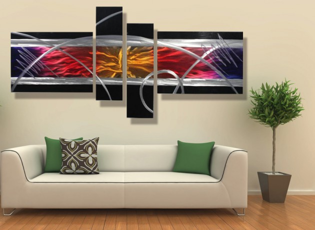 17 Tasteful Contemporary Wall Art Ideas To Give A Lively