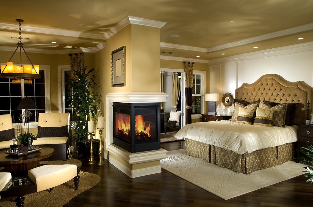 48 Magnificent Master Bedrooms With Fireplace Amazing Large Bedroom Design