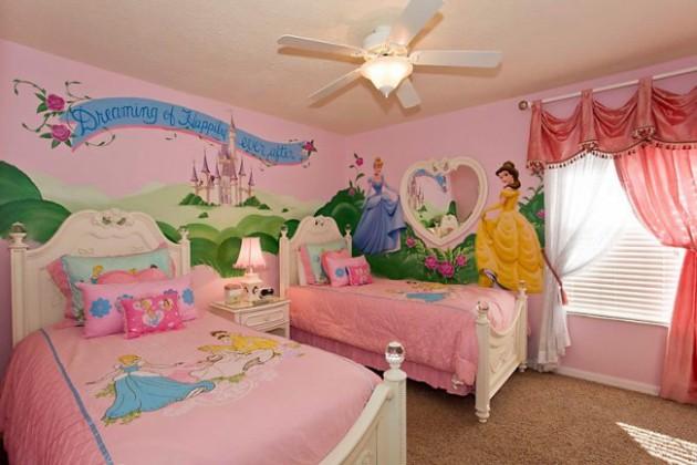 16 Joyful Disney-Themed Bedroom Designs That Will Delight Your Kids