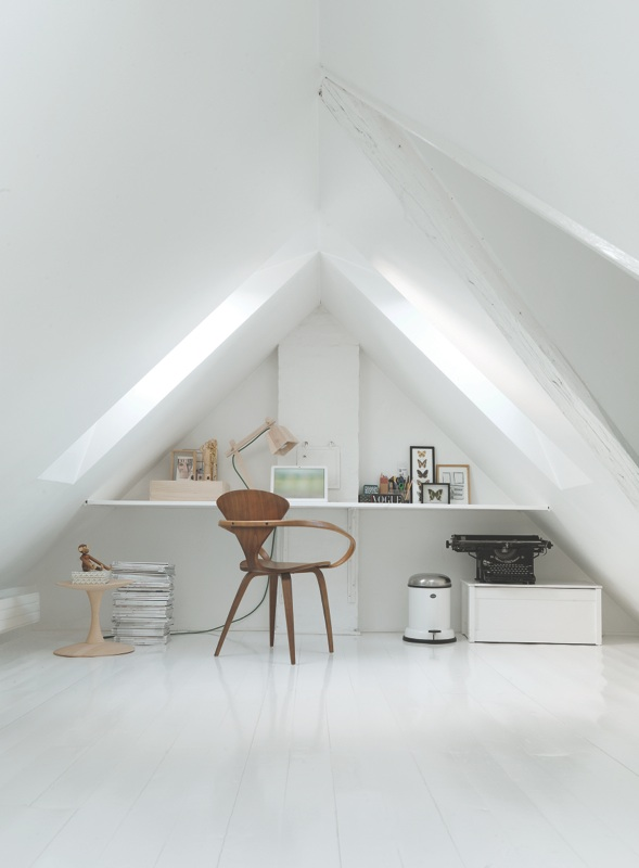 12 Magnificent Attic Home Office Design Ideas