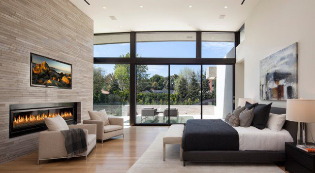 Marvelous 15 Magnificent Master Bedrooms With Fireplace