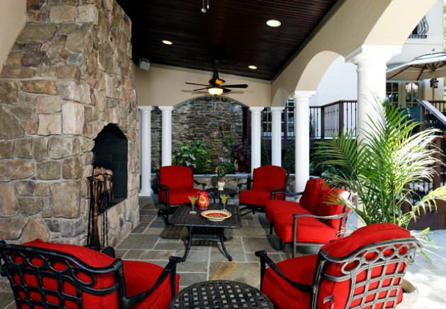 16 Great Ideas For Decorating The Patio With Cozy Furniture