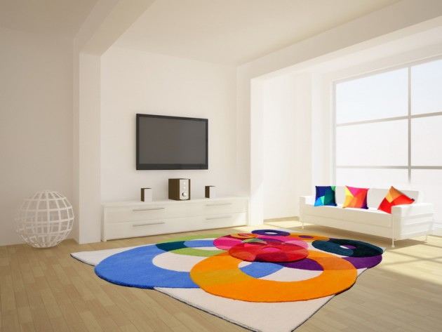 18 Fascinating Colorful Rugs To Spice Up Your Home Decor