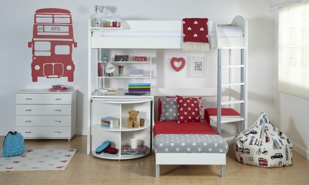 17 Delightful Kids Room Designs That Your Children Will Enjoy