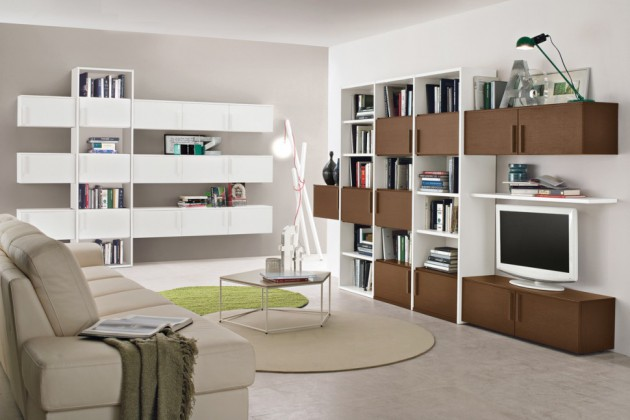 10 Contemporary Living Room Storage Items