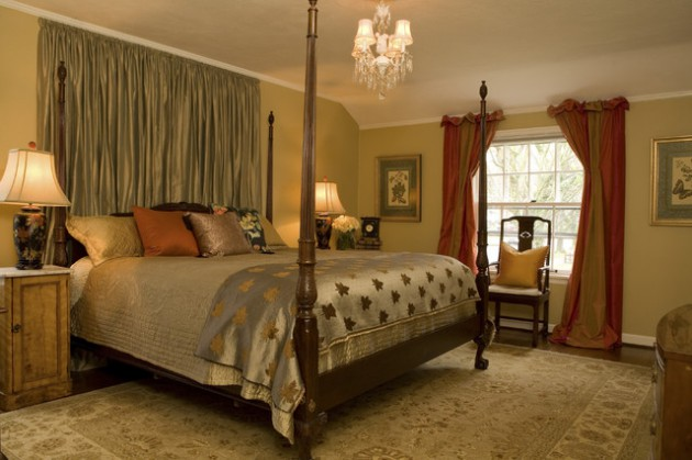 17 Outstanding Bedroom Curtains For Sophisticated Look