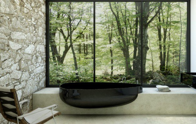18 Black Bathtubs With Dramatic Influence For Every Taste