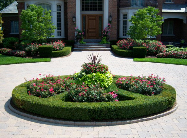 17 Brilliant Front Yard Landscape Design Ideas