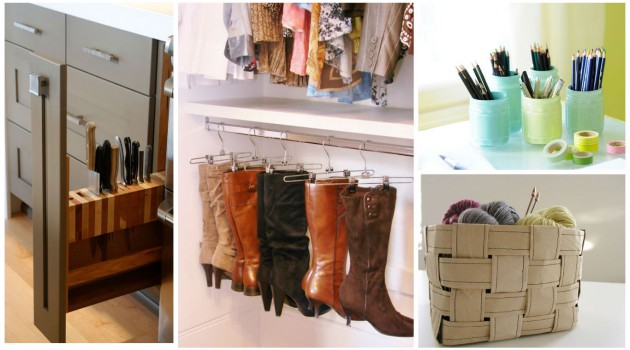 25 Totally Ingenious DIY Storage Ideas To Organize Your Entire Home