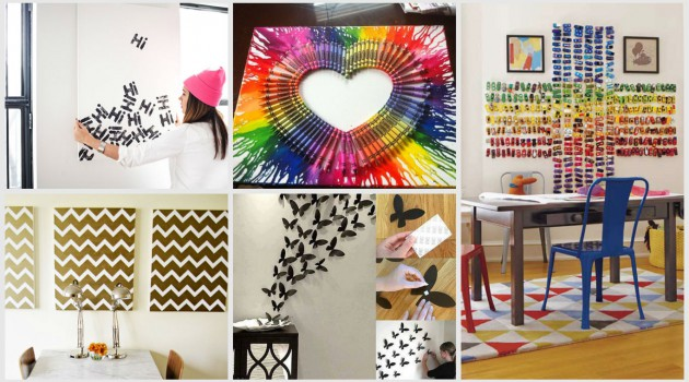 19 Cheap & Easy DIY Wall Decor That Anyone Can Make