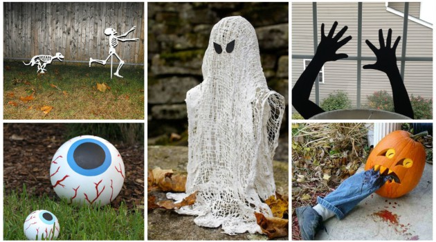 17 Easy-To-Make Interesting DIY Halloween Decorations