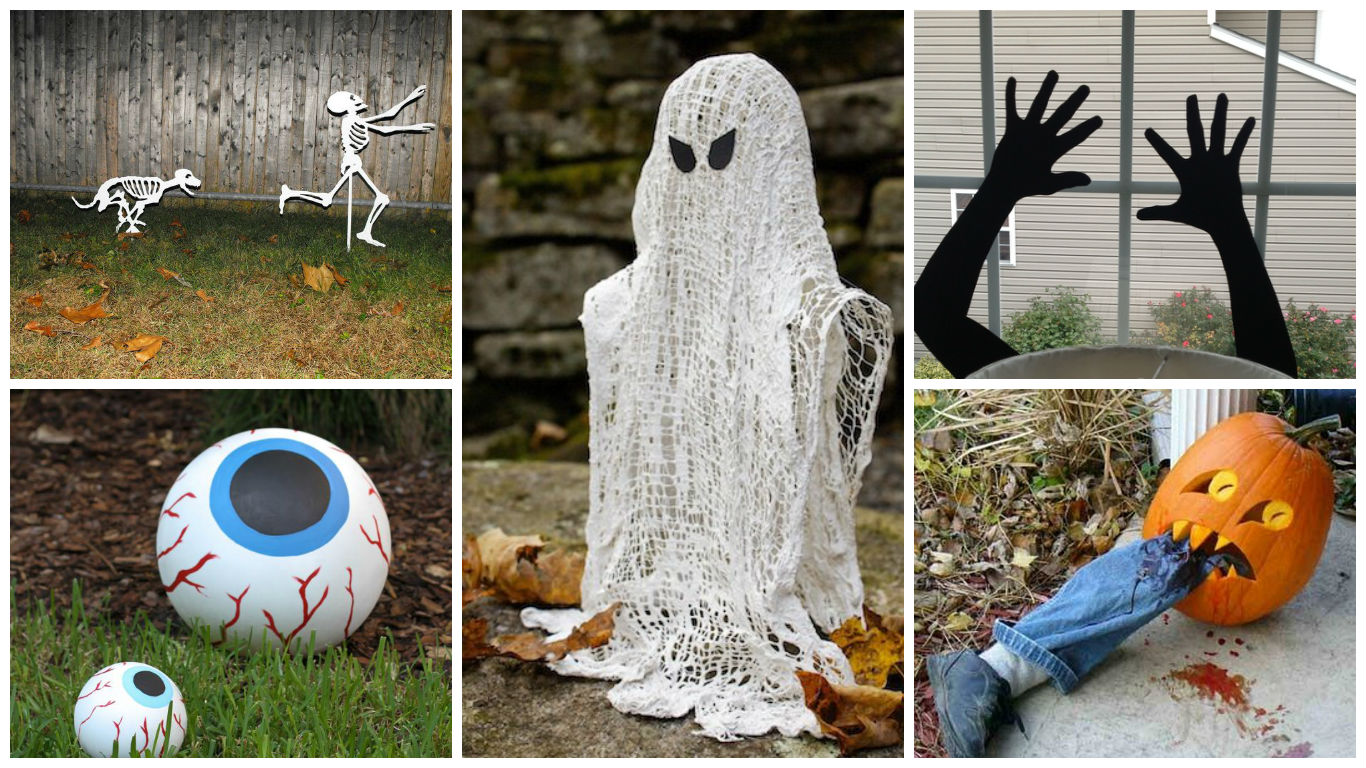 17 Easy To Make Interesting Diy Halloween Decorations
