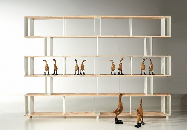 Skaffa Wood Random Bookcase by Piarotto