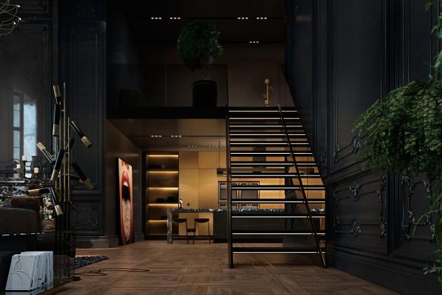 Paris Apartment, Iryna Dzhemesiuk and Vitaly Yurov