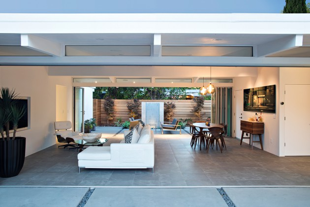 Truly Open Eichler House by Klopf Architecture
