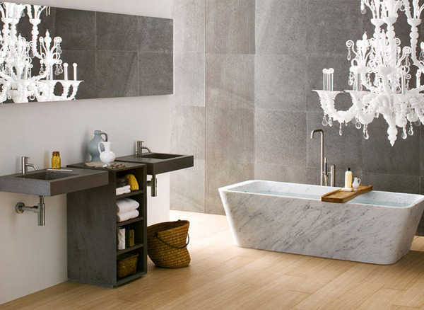 17 Charming Bathtubs Made Of Natural Stone For More Pleasant Look