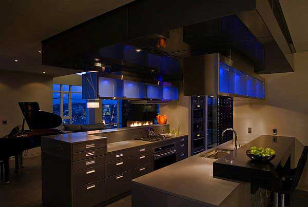 Kitchen Design Show Magnificent Imposant Penthouse Kitchen Design That Certainly Will Steal The Show Design Ideas