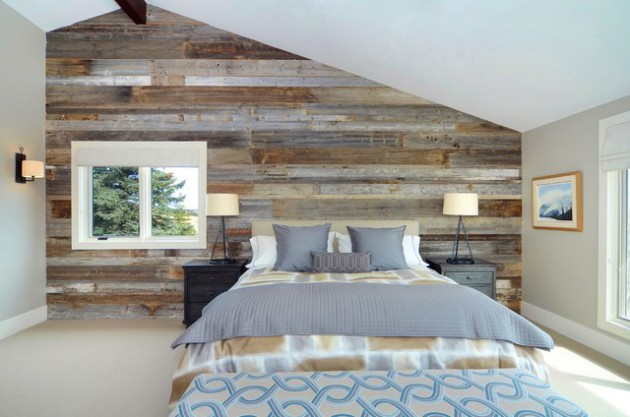 Dare To Be Different: 17 Brilliant Ideas Of Accent Walls With Wood