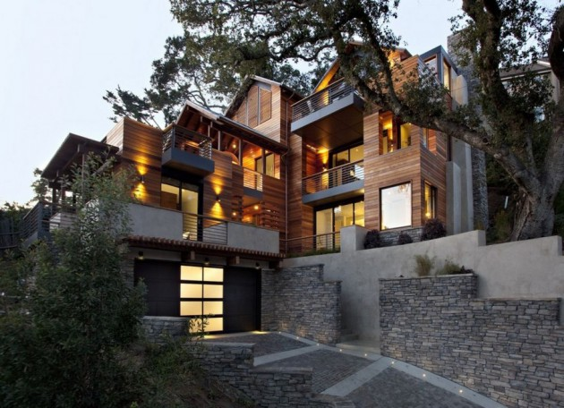 Hillside House A Contemporary Home In The Hills Designed By SB Architects