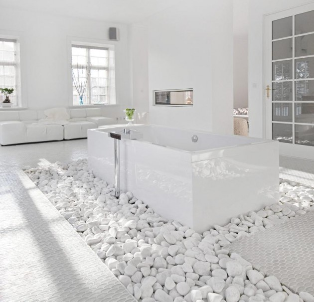 Rocks In The Bathroom 12 Beautiful Design Ideas