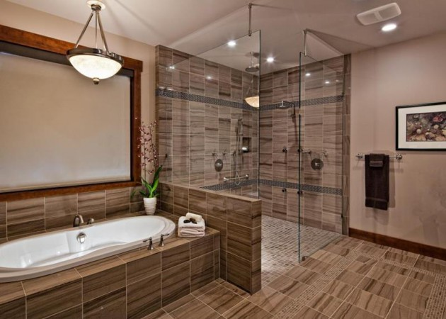 19 Stunning Bathroom Designs With Shower That Abound With Luxury