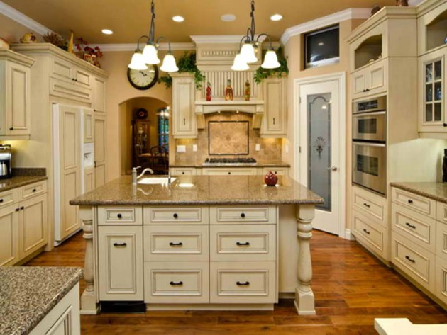 48 White Antique Kitchen Designs That Abound With Warmth Charm Gorgeous Antique Kitchen Design