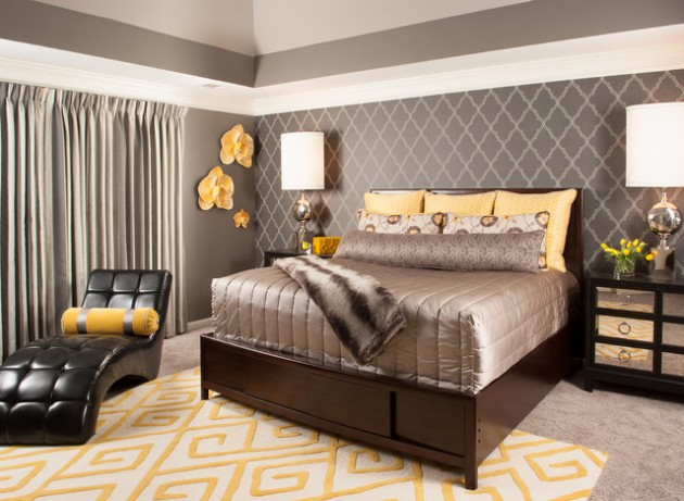 19 Simple But Beautiful Wallpaper Designs For Every Bedroom