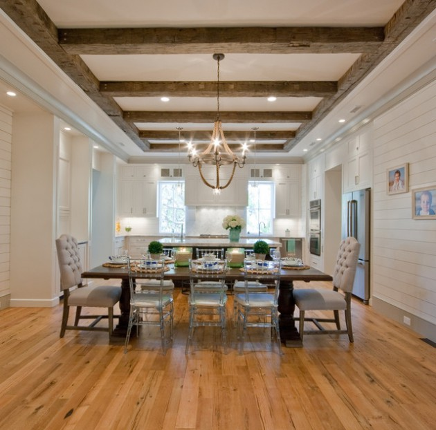 17 Charming Wooden Ceiling Designs For Rustic Look In Your Home