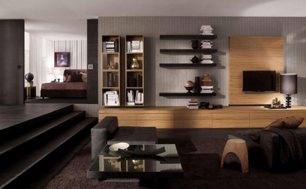 16 Brilliant Living Room Designs With Masculine Touch