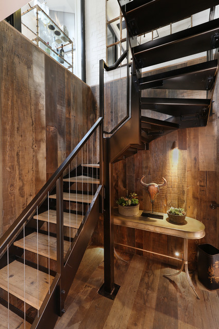 15 Tremendous Rustic Stairway Designs For Your Motivation