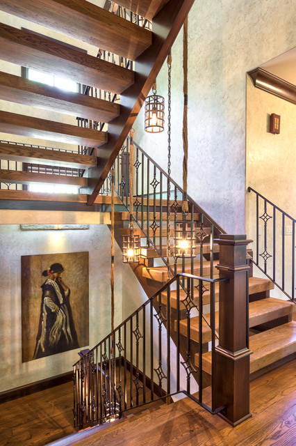 Tremendous Rustic Stairway Designs For Your Motivation