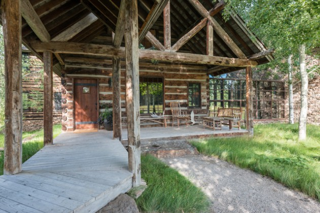 15 Wild Rustic Porch Designs Every Rustic Residence Needs