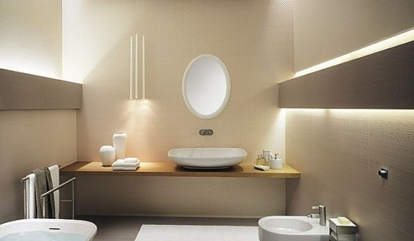 Beige In Your Bathroom- 15 Wonderful Designs For Extravagant Look