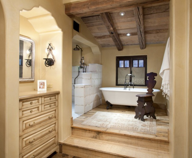 Rustic Bathroom Designs: 17 Charming Wooden Ceiling Designs For Rustic Look In Your
