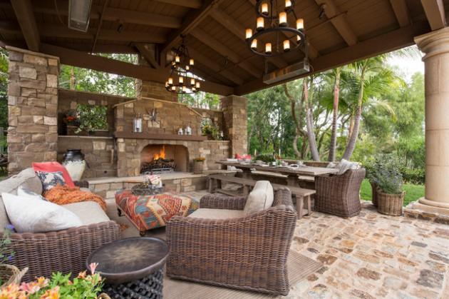 Eclectic Backyard Design