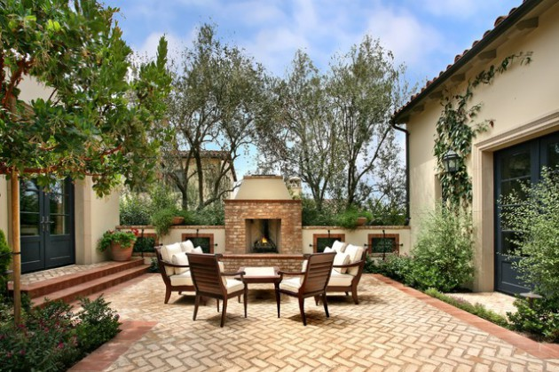16 Bespoke Mediterranean Patio Designs For Your Backyard
