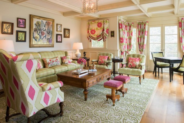 pink and green living room ideas 16 classic traditional living room designs for the whole 26442