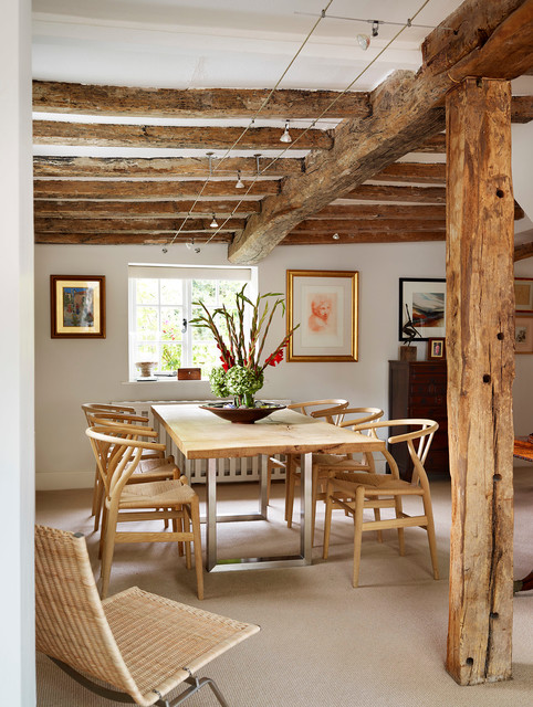 16 Dazzling Rustic Dining Room Designs That You Cant Refuse