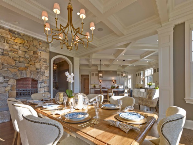 16 Luxury Traditional Dining Rooms That Will Turn Your Home Into A Palace