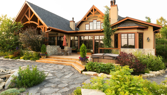 16 Magnificent Rustic Home Exterior Designs You Will ...