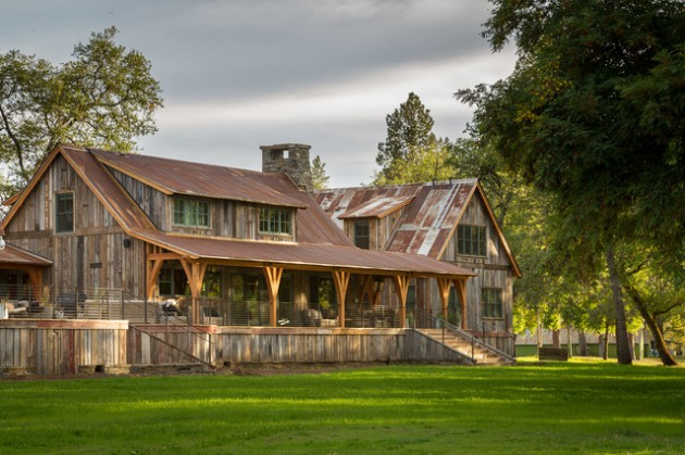 16 Magnificent Rustic Home Exterior Designs You Will Immediately Fall In Love With