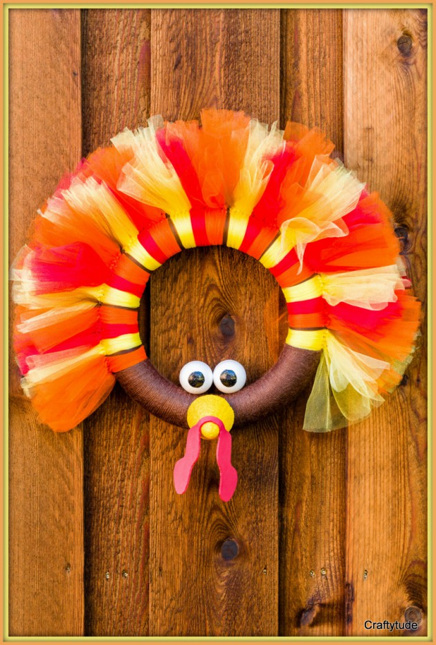 16 wonderful handmade thanksgiving wreath designs to for Handmade thanksgiving decorations