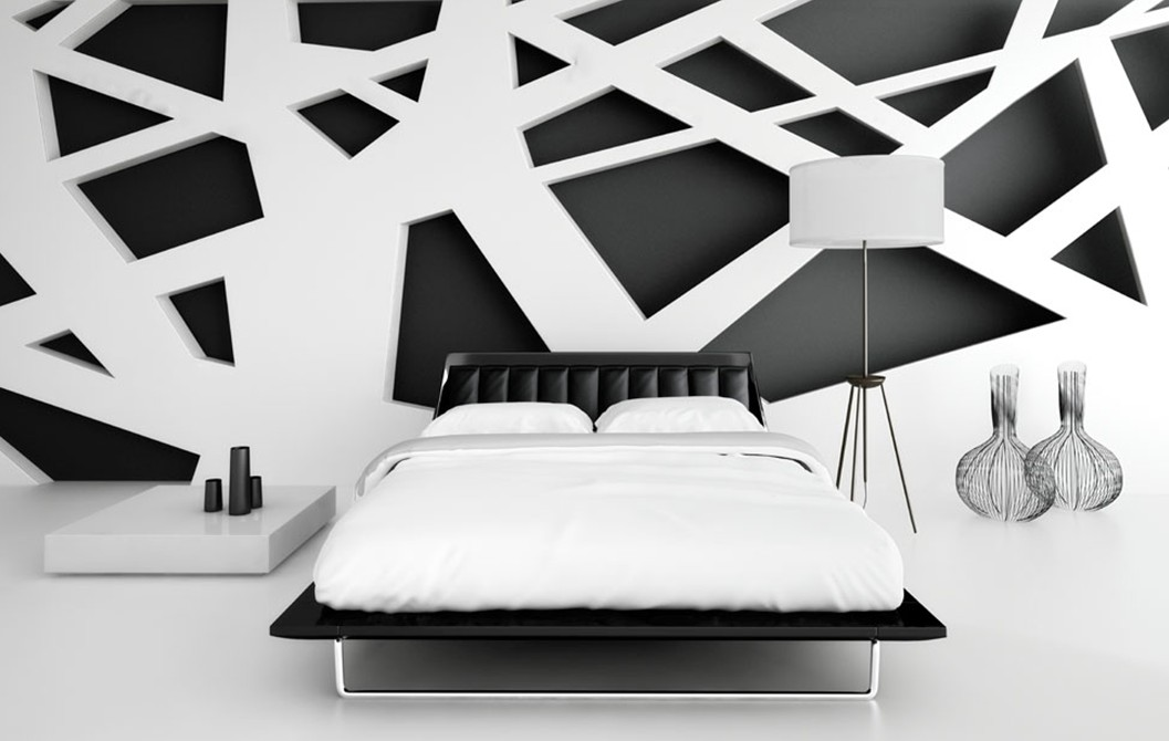 17 timeless black white bedroom designs that everyone will adore for Bedroom ideas in black and white