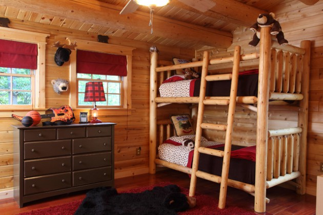 17 Dreamy Rustic Kids' Room Ideas That Will Provide Entertainment To Your Children