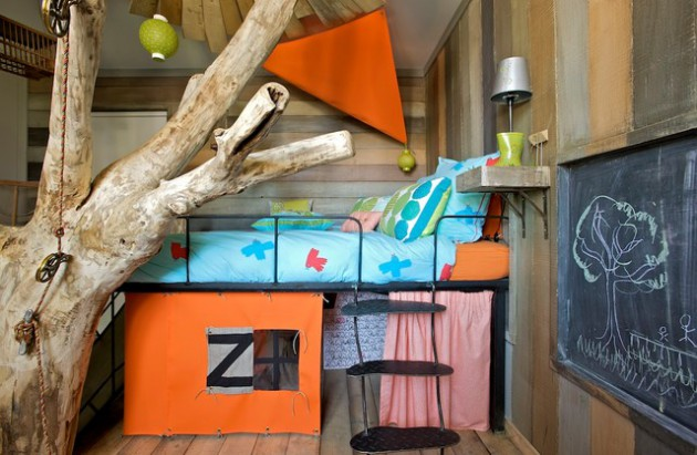 17 Dreamy Rustic Kids Room Ideas That Will Provide Entertainment To Your Children
