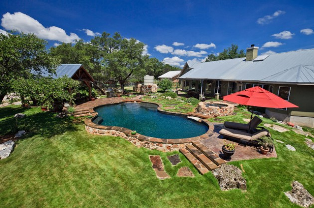 17 Dreamy Rustic Pool Designs You Wouldnt Want To Leave
