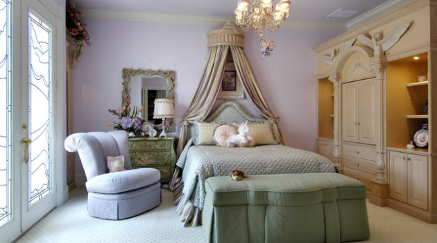 18 Delightful Traditional Girl's Bedroom Design Ideas