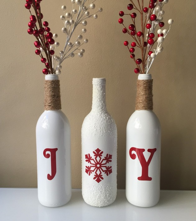 wine bottle decorations handmade 18 magical diy decoration ideas taken from 114